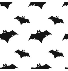 bat seamless pattern vector image