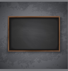 Blackboard on the wall vector