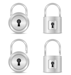 Locks vector image