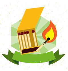 Logo matches color vector