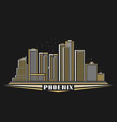 Phoenix city vector