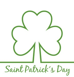 Saint patricks day poster vector