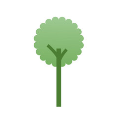 Tree forest ecology environment symbol vector