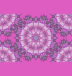 vintage purple seamless pattern filigree circles vector image