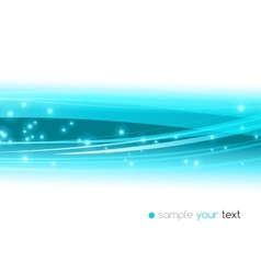 Abstract blue line background vector image