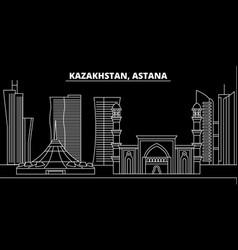 Astana silhouette skyline kazakhstan - astana vector