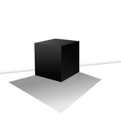 Cube box vector
