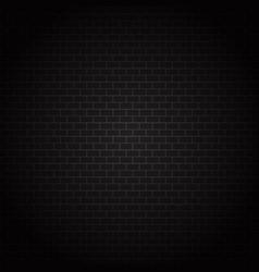 Dark brick wall texture vector