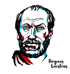 Diogenes laertius vector