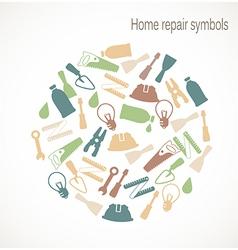 Home repair symbols vector