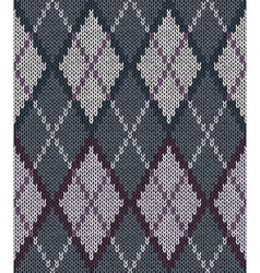 Male Knitted Pattern vector