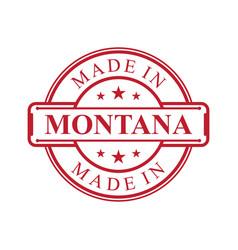 montana vector image