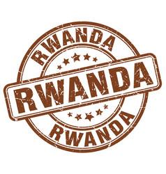 Rwanda stamp vector