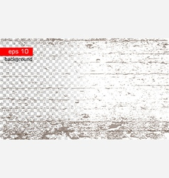 texture with wood effect on transparent and white vector image