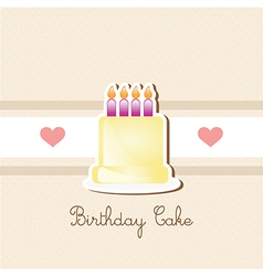 Cake Cupcakes icons vector image vector image