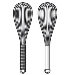 balloon whisk vector image