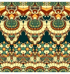 Floral mechanism seamless vector image