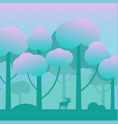 Game fantasy wood background vector