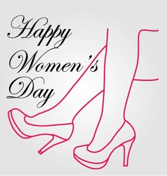 Graphic for womens day vector
