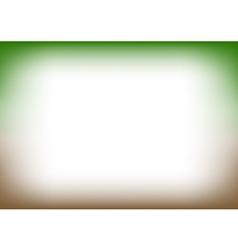 Green Brown Copyspace Background vector image