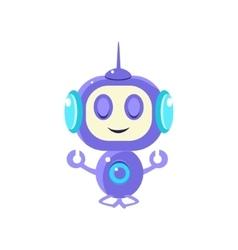 Robot Meditating Peacefully vector