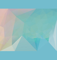 Triangle blue pattern vector