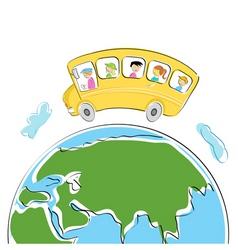 World tour vector