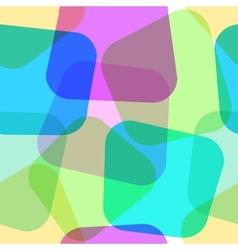 Seamless geometric wallpaper vector image vector image