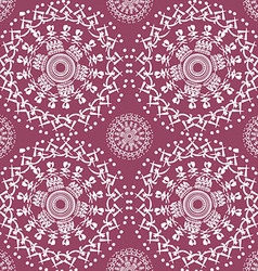 color Oriental pattern5 vector image