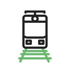 Train Tracks vector image