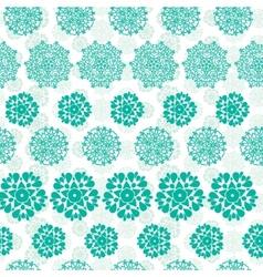 Abstract green decorative circles stars striped vector image vector image