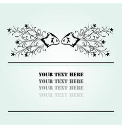 Abstract invitation vector