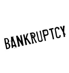 Bankruptcy stamp rubber grunge vector