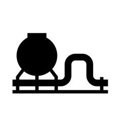 gas pipeline vector image