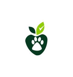 organic pet food vector image