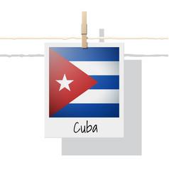 Photo cuba flag vector