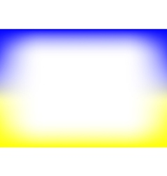 Yellow Blue Copyspace Background vector