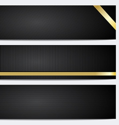 Banner and header backgrounds vector image vector image