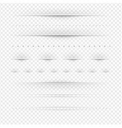 set of dividers big set vector image