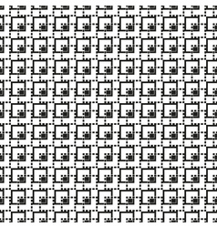 Abstract crop symbols technical seamless pattern vector
