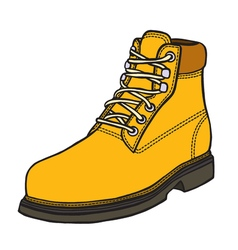 Boot in style vector