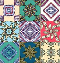Floral Tiled Background vector