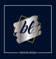 Initial letter bl logo template design vector