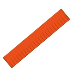 measuring ruler icon vector image