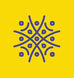 ornament logo vector image