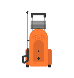Portable pressure washer isolated icon vector