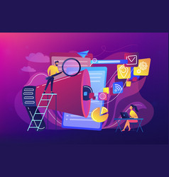 search engines optimization concept vector image