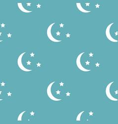 Sleep pattern seamless blue vector