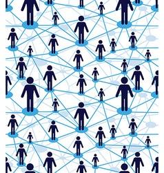 Web diagram network vector