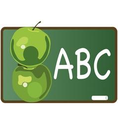 ABC Apples vector